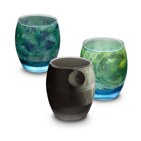 Star Wars Planetary Glass Set of 6 - Multi