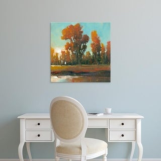 Easy Art Prints Tim OToole's 'Late Afternoon Fall' Premium Canvas Art