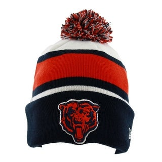 Chicago Bears Classic On-Field Sport Knit Hat with Pom