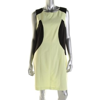 Marc New York Womens Colorblock Sleeveless Wear to Work Dress - 8