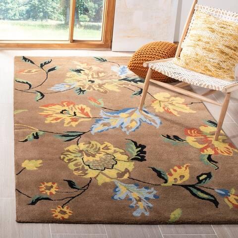 Safavieh Handmade Soho Nantkea Floral N.Z. Wool Rug