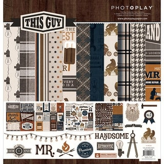 """Photo Play Collection Pack 12""""X12""""-This Guy"""