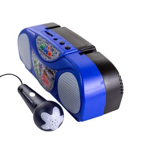 PJ Masks Portable Radio Karaoke with Microphone