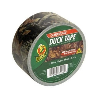 "Duck 1409574 Real Woods Duct Tape, 1.88"" x 10 Yd, Camouflage"
