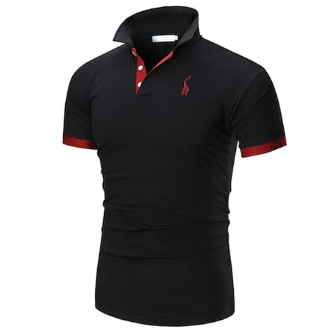 Men's Performance Solid Polo Shirt