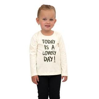 Pulla Bulla Toddler Girl Long Sleeve Shirt Graphic Tee