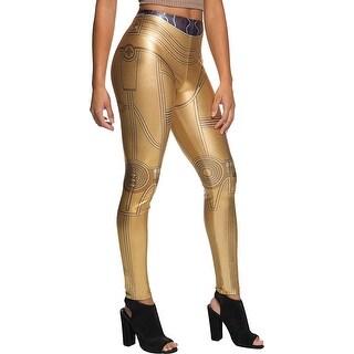 Star Wars C-3PO Leggings Costume Accessory - Gold