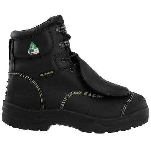 Oliver Steel Toe Met Guard Work Mens Work Safety Shoes Casual -