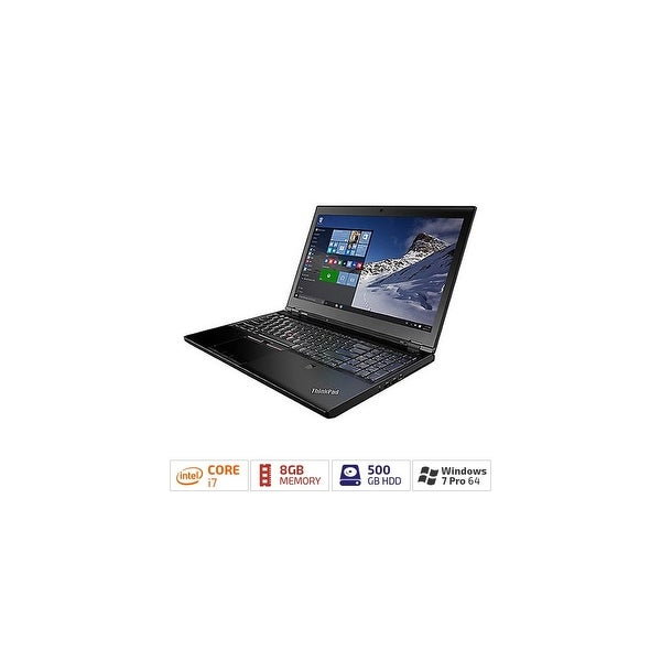"Lenovo ThinkPad P50 20EN001AUS 15.6"" (In-plane Switching (IPS) Technology) - Intel Core i7 (6th Gen) i7-6820HQ Quad-core (4"