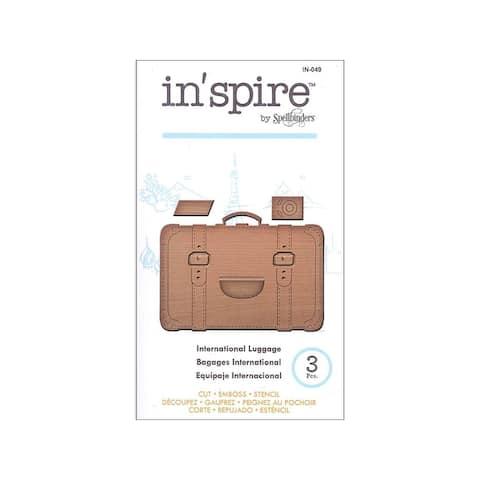 In-049 spellbinders die inspire international luggage