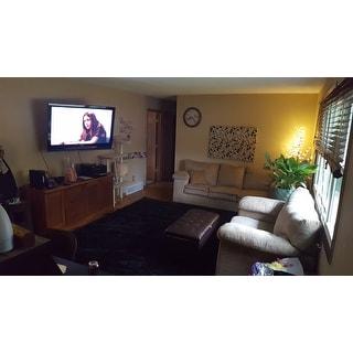 Safavieh California Cozy Plush Black Shag Rug (9'6 x 13')