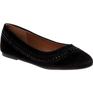 Kensie Girl Girls' KG55296 Flat Black