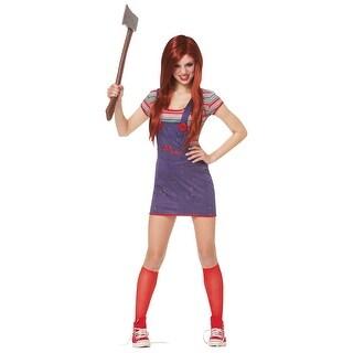 Teen Sassy Chucky Costume