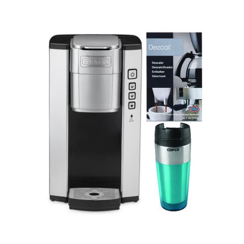 Cuisinart SS-5 Compact Single Serve Coffee Brewer with Tumbler Bundle