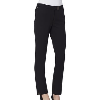Tahari By ASL NEW Solid Black Women's Size 16 Stretch Dress Pants
