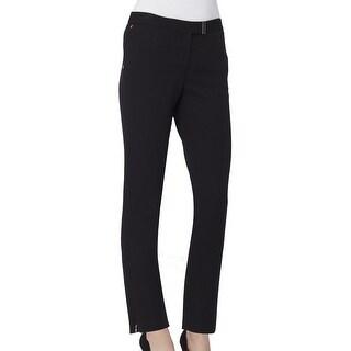 Tahari By ASL NEW Solid Black Women's Size 6 Stretch Dress Pants