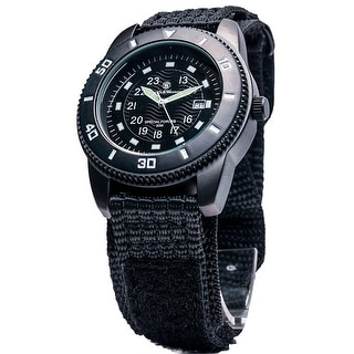 Smith & Wesson Commando Watch Date Display Glowing Hands 45mm 3ATM - Black