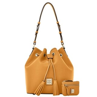 Dooney & Bourke Saffiano Kendall with Small Coin Case (Introduced by Dooney & Bourke at $295 in Sep 2016) - Camel