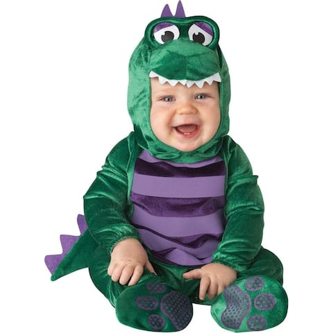 Dinky Dino Costume Infant - Green