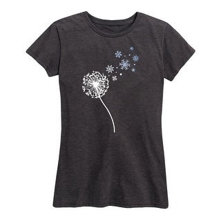 Dandelion Snowflakes - Women's Short Sleeve Classic Fit Tee