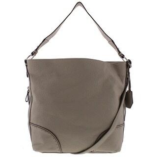Jessica Simpson Womens Lani Hobo Handbag Faux Leather Convertible