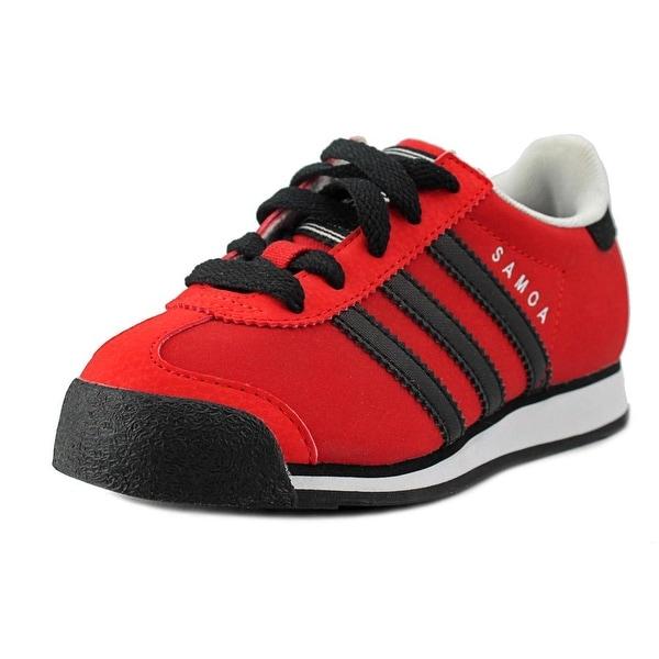 Adidas Samoa C Round Toe Synthetic Sneakers