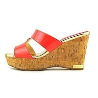 Marc Fisher Womens MF Willian Open Toe Special Occasion Platform Sandals
