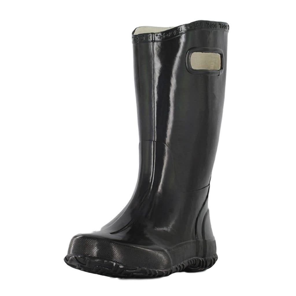 d9a006e5aa Shop Bogs Boots Boys Kids Rain Boots Solid Rubber Waterproof - Free  Shipping On Orders Over  45 - Overstock - 15414519