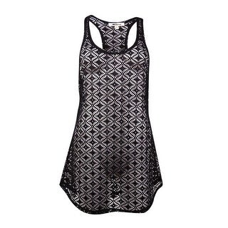 Miken Women's Crochet Lace Tank Swim Coverup (More options available)