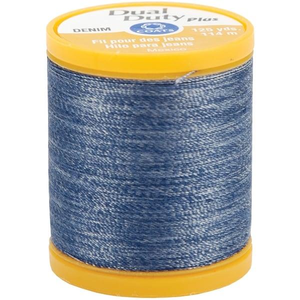 Dual Duty Plus Denim Thread 125yd-Denim Blue