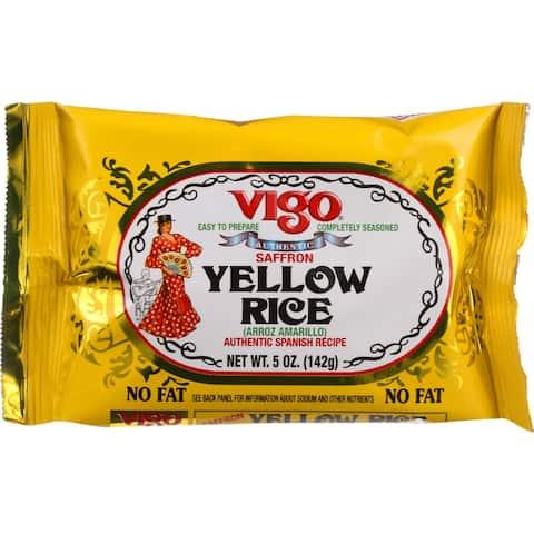 Vigo Rice - Yellow - 5 oz - case of 12