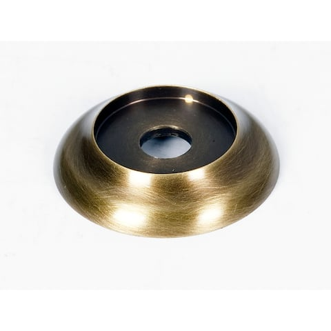 "Alno A982-18 Royale 1-1/8"" Diameter Cabinet Knob Backplate"