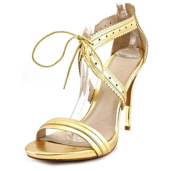 Pour La Victoire Shanna Open Toe Leather Sandals