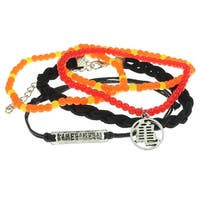 Dragon Ball Z Anime Arm Party 5 Pack Of Bracelets