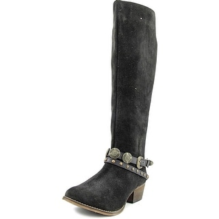 Coconuts By Matisse Wichita Pointed Toe Suede Knee High Boot