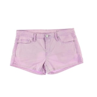 [BLANKNYC] Womens Tootie Acid Wash Fitted Casual Shorts - 25