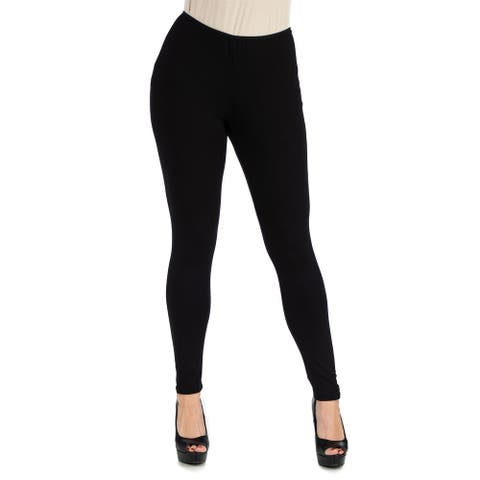 24seven Comfort Apparel Womens Stretch Ankle Length Leggings R002500