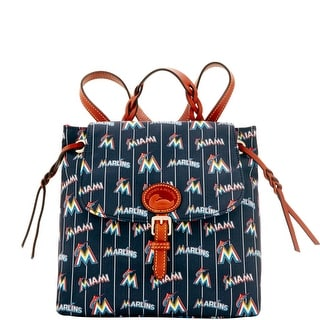 Dooney & Bourke MLB Marlins Flap Backpack (Introduced by Dooney & Bourke at $198 in May 2016)