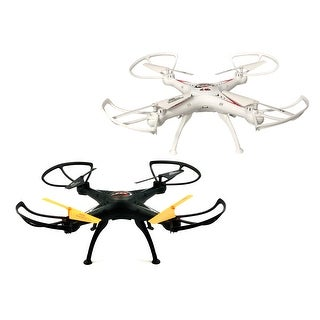 TechComm Sky Hunter RC Quadcopter Drone with Headless Mode & 6-Axis Gyro