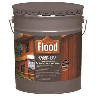 Flood FLD527-05 CWF-UV Exterior Wood Finish, Honey Gold, 5 Gallon