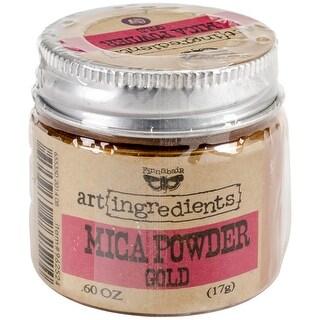Finnabair Art Ingredients Mica Powder .6oz-Gold