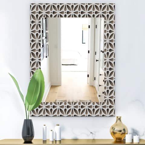 Designart 'Scandinavian 11' Mid-Century Mirror - Wall Mirror
