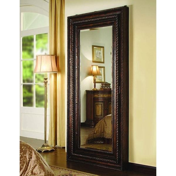 Hooker Furniture 500-50-656 38 Inch x 76 Inch Rectangular Framed Mirror - Mahogany - N/A