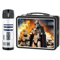 Thermos Metal Lunch Kit w/ Drink Bottle - Star Wars