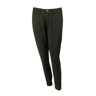 Tommy Hilfiger Women's Zip Ankle Cargo Jogger Pants