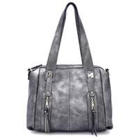 Style Strategy Liz Satchel Bag Grey