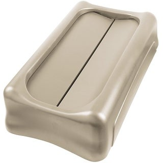 Rubbermaid FG267360BEIG Swing Top Lid For Slim Jim Waste Container, Beige