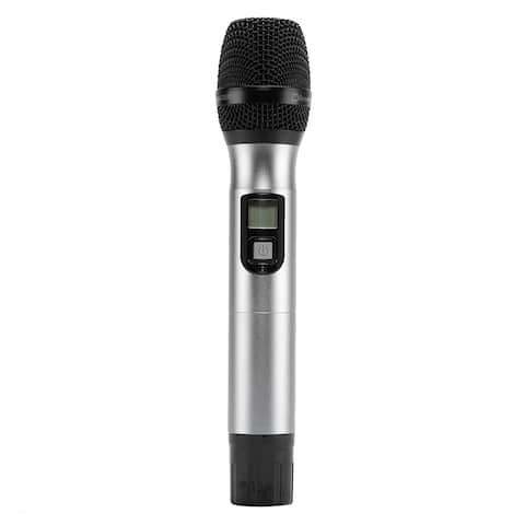U-8008 UHF Anti-Interference Wireless Microphone 2 x Cordless Receiver