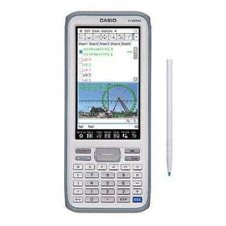 "Casio Touchscreen With Stylus Graphing Calculator With 4.8"" Lcd Color Display"
