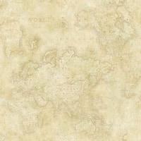 Brewster DLR47543 Hardings Beige World Map Wallpaper - beige map